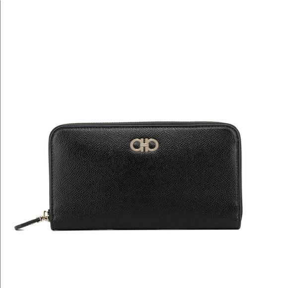 9ff11d057cf6 Sale❤️Salvatore Ferragamo Zip Around Wallet